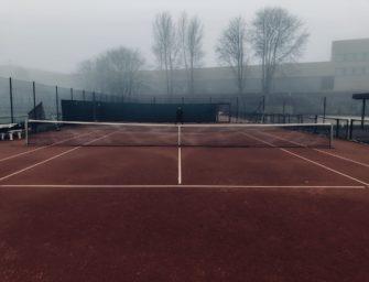 Das neue Wintertennis: draußen spielen