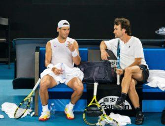 Nadal bei den Australien Open ohne Coach Moya