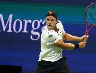 Im Quali-Match: Tennisprofi Kudla erhält positives Testergebnis