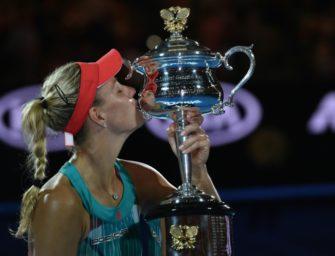 Das SID-Kalenderblatt am 30. Januar: Kerber gewinnt ersten Grand-Slam-Titel