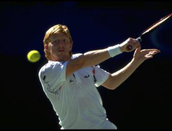 27. Januar 1991: Boris Becker erklimmt den Tennisthron