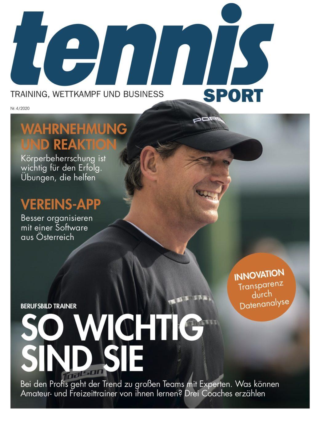 Titelseite TennisSport