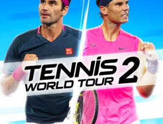 Tennis World Tour 2: Gewinnt das neue Tennis-Game für PC, PS4, Xbox One und Switch