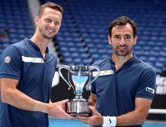 Sieg in Melbourne: Erster gemeinsamer Grand-Slam-Titel für Dodig/Polasek