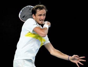 Australian Open: Medvedev fordert Djokovic im Finale