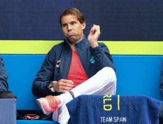 ATP Cup: Nadal sagt für Auftaktmatch wegen Rückenproblemen ab