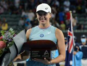French-Open-Siegerin Swiatek triumphiert in Adelaide
