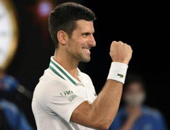 Djokovic spielt um neunten Melbourne-Titel – Karazews Märchen endet im Halbfinale