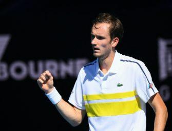 19. Sieg in Serie: Furioser Medvedev im Halbfinale
