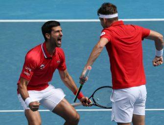 ATP Cup: Djokovic führt Serbien zum Sieg – Nadal zwickt der Rücken