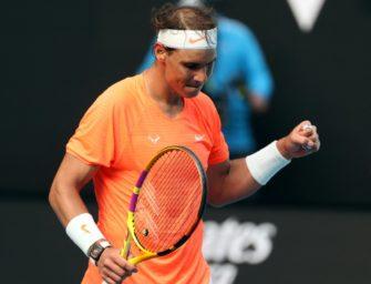 Nadal mit weißer Weste ins Viertelfinale