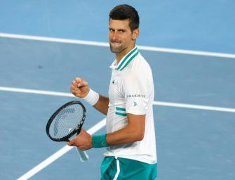 Schläger-Ausrüster gratuliert Djokovic vorzeitig zum Australian-Open-Sieg