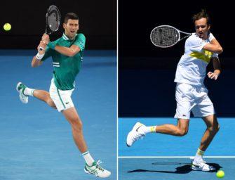 Djokovic vs. Medvedev: Die Analyse vor dem Showdown