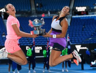 Australian Open: Mertens/Sabalenka gewinnen im Doppel