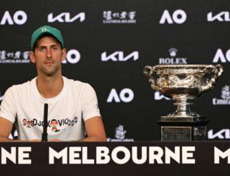 Weltrangliste: Djokovic zieht mit Rekordhalter Federer gleich