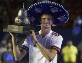 Tennis-Weltrangliste: Zverev macht Punkte auf Federer gut, Koepfer erreicht Karrierebestwert