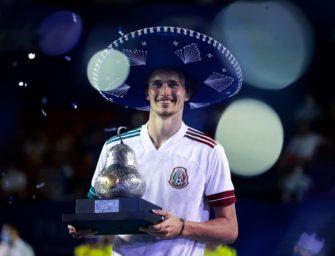 Zverev holt ersten Turniersieg des Jahres