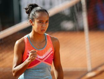 Leylah Fernandez nach erstem Turniersieg in Eile
