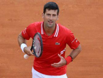 Erster Auftritt nach Melbourne-Triumph: Djokovic schlägt Sinner
