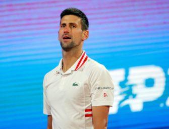 Djokovic verzichtet auf Teilnahme an ATP-Masters in Madrid