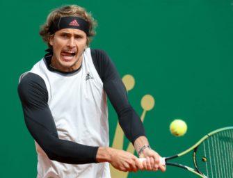 Masters in Monte Carlo: Zverev schon im Achtelfinale gescheitert