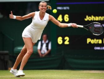 WTA-Rasenturnier in Bad Homburg: Petra Kvitova gibt Start-Zusage