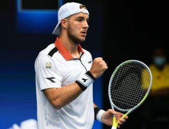 Tennis: Struff folgt Hanfmann ins Achtelfinale
