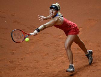 Trotz guter Leistung: Kerber scheitert an Kvitova