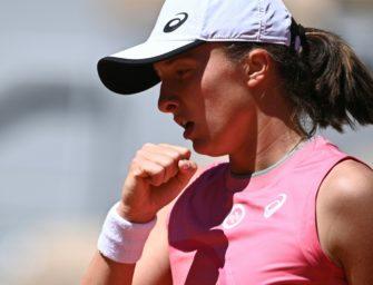 French Open: Titelverteidigerin Swiatek meistert erste Prüfung