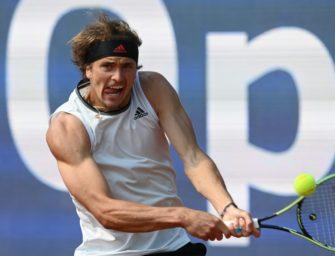 Eindrucksvoll: Zverev gewinnt Auftaktmatch in Madrid