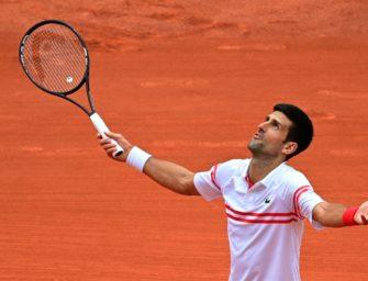 Djokovic wehrt Teenie-Angriff von Musetti in fünf Sätzen ab