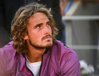 Paris-Finalist Tsitsipas sagt Start in Halle wegen Erschöpfung ab