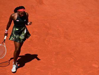 US-Teenager Gauff erstmals im Viertelfinale der French Open