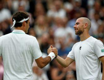 Federer schrammt an Erstrunden-Aus vorbei – Mannarino gibt verletzt auf