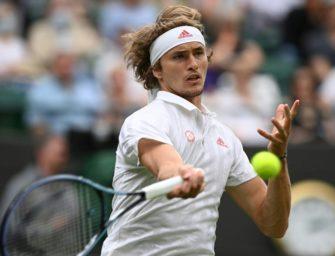 Zverev mit lockerem Auftaktsieg in Wimbledon