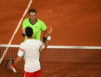 Djokovic verneigt sich nach Halbfinalsieg vor Nadal