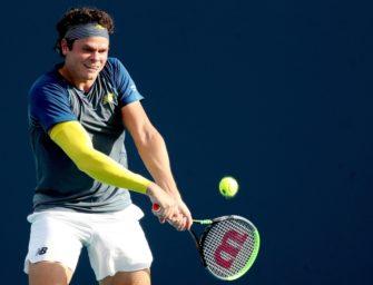 Raonic verzichtet auf Wimbledon