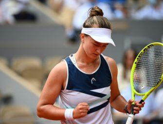 Krejcikova feiert bei den French Open ersten Grand-Slam-Sieg