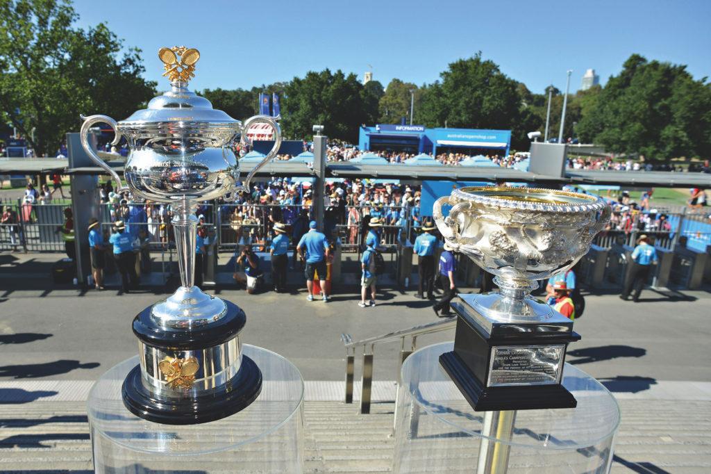 Australian Open - Pokale