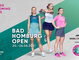 Bad Homburg Open live im TV