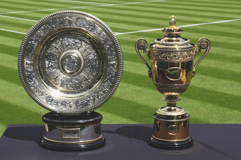 Wimbledon - Pokale