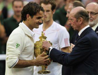 Ende einer Ära in Wimbledon: Herzog von Kent dankt als Präsident des All England Club ab