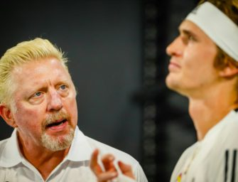 Zverev weist Becker-Kritik zurück