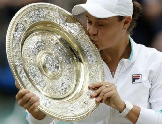 """Barty nach Wimbledonsieg demütig: """"Wichtiger, ein guter Mensch zu sein"""""""