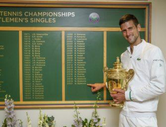 """Djokovic nach historischem Wimbledonsieg selbstbewusst: """"Halte mich für den Besten"""""""
