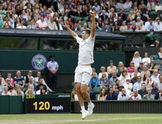Wimbledon: Hurkacz wirft Medwedew raus und trifft auf Federer