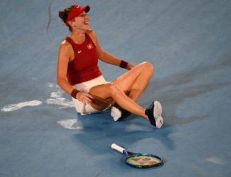 Chance aufs goldene Tennis-Double: Bencic gewinnt Gold im Einzel