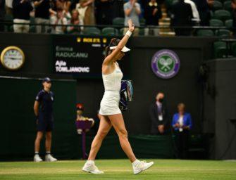 Raducanus Wimbledon-Märchen endet mit Aufgabe im Achtelfinale