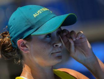Tennis: Gold-Favoritin Barty in der ersten Runde ausgeschieden