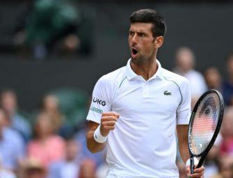 Wimbledon: Djokovic ungefährdet im Halbfinale